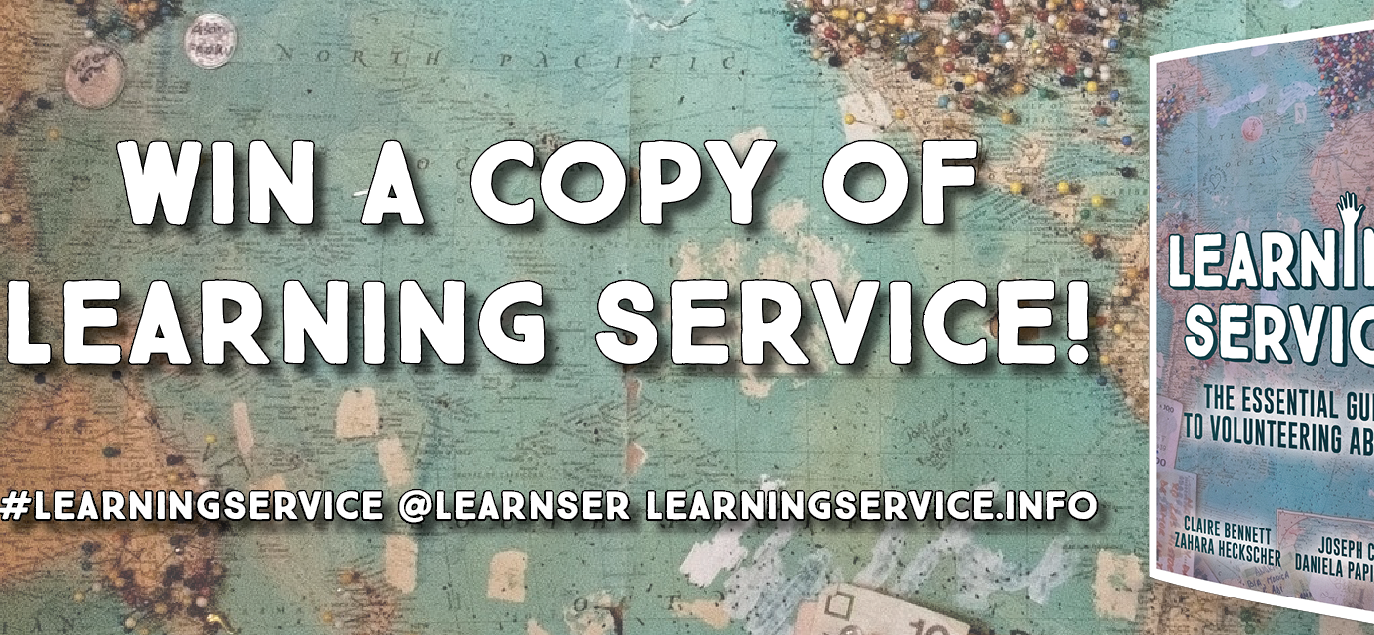 Free Copies of the Learning Service Book to Give Away!